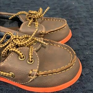 GAP Shoes - New Gap Baby Boy Toddler Brown Slip-On Boat Shoes